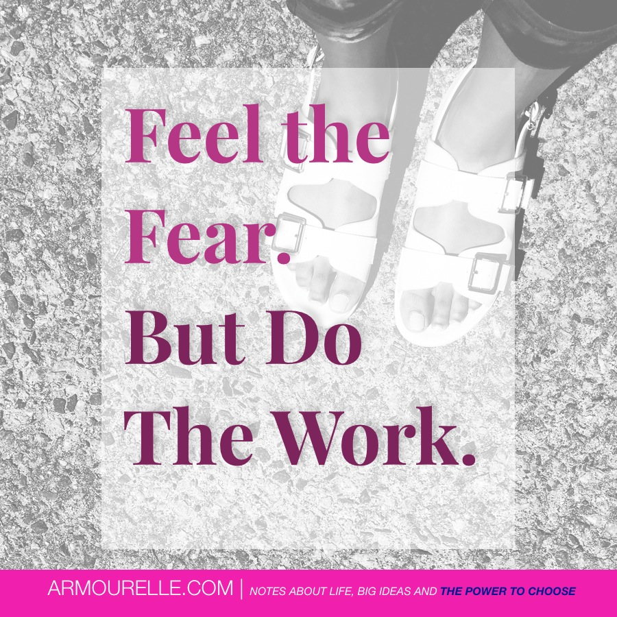 Do the work that's important. Not busy work! // ARMOURELLE.COM