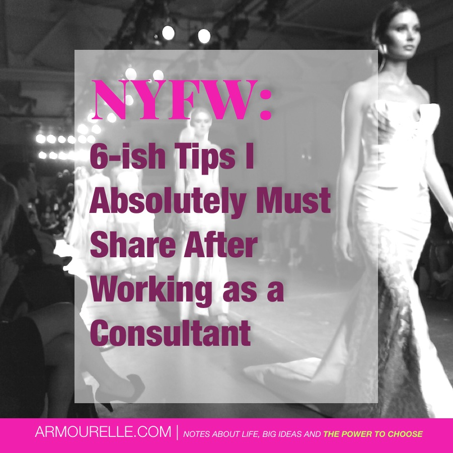 Tips I MUST share with you after working as a PR consultant during NYFW
